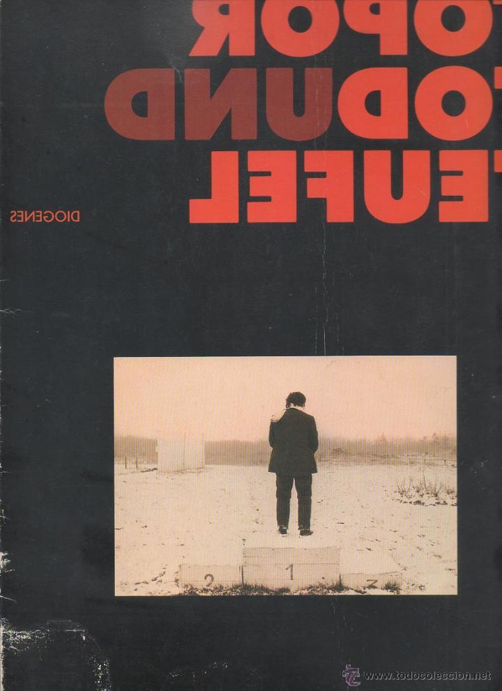 Libros de segunda mano: TOPOR TOD UND TEUFEL. Diogenes, 1ª edición, 1985 [ALEMÁN] - Foto 6 - 46191178