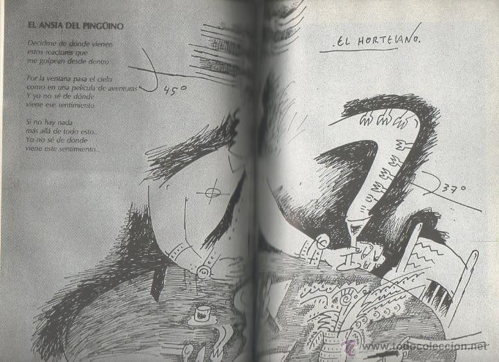 Libros de segunda mano: Quiero ser miércoles. El Hortelano. Arnao ediciones, 1ª ed., 1986. Dedicatoria autógrafa - Foto 4 - 46205303