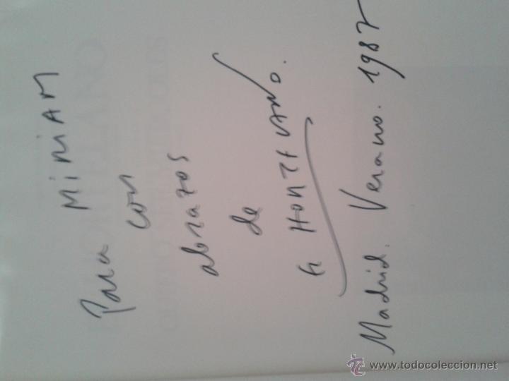 Libros de segunda mano: Quiero ser miércoles. El Hortelano. Arnao ediciones, 1ª ed., 1986. Dedicatoria autógrafa - Foto 6 - 46205303