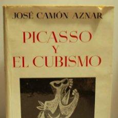 Libros de segunda mano: PICASSO Y EL CUBISMO. JOSE CAMON AZNAR. ESPASA CALPE. AÑO 1956.. Lote 46221361