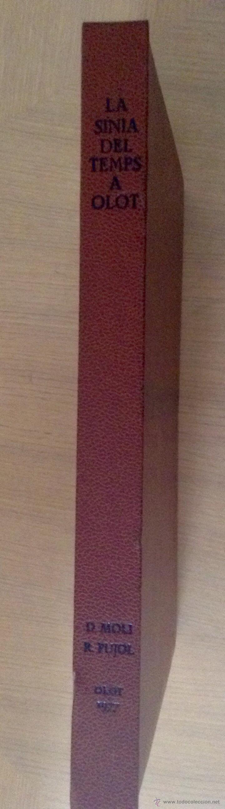 Libros de segunda mano: LA SINIA DEL TEMPS A OLOT Domenec Molí , Ilustraciones Ramon Pujol. - Foto 2 - 46437973