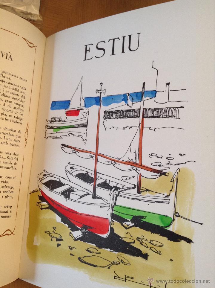 Libros de segunda mano: LA SINIA DEL TEMPS A OLOT Domenec Molí , Ilustraciones Ramon Pujol. - Foto 8 - 46437973