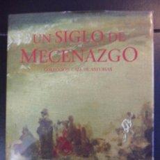 Libros de segunda mano: UN SIGLO DE MECENAZGO. COLECCION CAJA DE ASTURIAS. CAJA DE ASTURIAS, 1ª EDICION 1996. TAPA DURA EN T. Lote 49229307