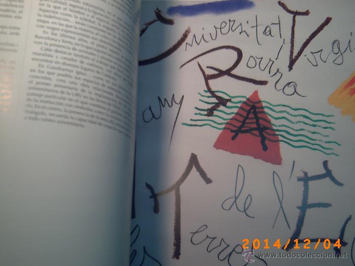 Libros de segunda mano: EL FONT DART LA UNIVERSITAT ROVIRA I VIRGILI-TARRAGONA-PUBLICACIONS URV-DESEMBRE 2008-QUINZE ANIV. - Foto 6 - 46623516