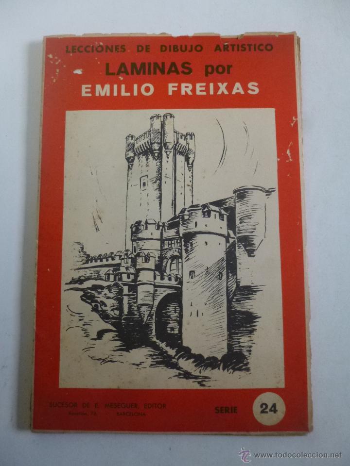 Lecciones de dibujo art stico emilio freixas s comprar libros de pintura en todocoleccion - Laminas de dibujo artistico ...