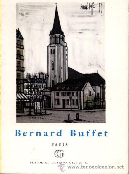BERNARD BUFFET / PARIS / COLECCION MINIA Nº 32 / 1961 (Libros de Segunda Mano - Bellas artes, ocio y coleccionismo - Pintura)