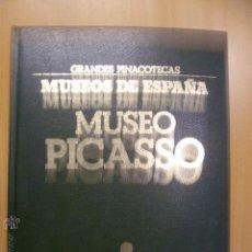 Libros de segunda mano: MUSEO PICASSO - MUSEOS DE ESPAÑA - VOLUMEN I, COMPLETO CON TODAS LAS LAMINAS SIN PEGAR.. Lote 47050239