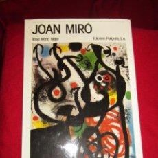 Libros de segunda mano: JOAN MIRÓ.ROSA MARIA MALET.. Lote 47392821
