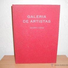 Libros de segunda mano: EL ARTE DE LA PINTURA GALERIA DE ARTISTAS.-DAVID A TAPIES. Lote 47396291