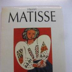 Libros de segunda mano: HENRI MATISSE. EDICIONES POLIGRAFA 1994.. Lote 47486785