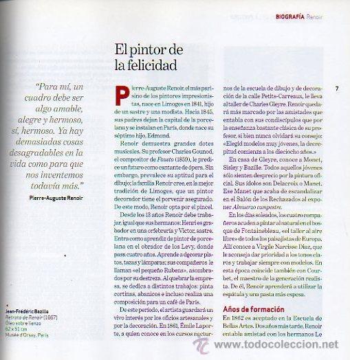 Libros de segunda mano: RENOIR - GRANDES MAESTROS DE LA PINTURA. EDITORIAL SOL 90, 2008 - Foto 2 - 47614753