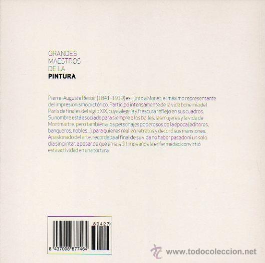 Libros de segunda mano: RENOIR - GRANDES MAESTROS DE LA PINTURA. EDITORIAL SOL 90, 2008 - Foto 5 - 47614753