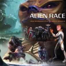 Libros de segunda mano: ALIEN RACE: VISUAL DEVELOPMENT OF AN INTERGALACTIC ADVENTURE. Lote 47840470