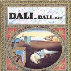 Libros de segunda mano: DALI... DALI... DALI...TEXTOS: MAX GERARD. PROLOGO: DANIEL GIRALT- EN ESPAÑOL. 1983.. Lote 47949688