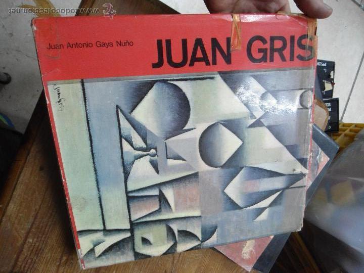 LIBRO JUAN GRIS J. ANTONIO GAYA ART-215 (Libros de Segunda Mano - Bellas artes, ocio y coleccionismo - Pintura)