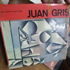Libros de segunda mano: LIBRO JUAN GRIS J. ANTONIO GAYA ART-215. Lote 48432334