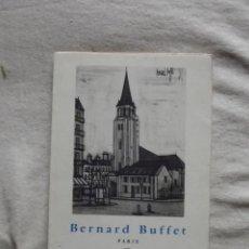 Libros de segunda mano: BERNARD BUFFET- PARIS . Lote 48571744