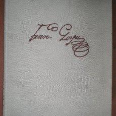 Libros de segunda mano: GASSIER, PIERRE Y WILSON, JULIET: VIDA Y OBRA DE FRANCISCO GOYA. . Lote 48585412