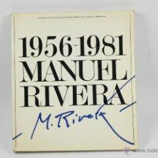 Libros de segunda mano: 1956-1981. MANUEL RIVERA, 27X30 CM.. Lote 48608123