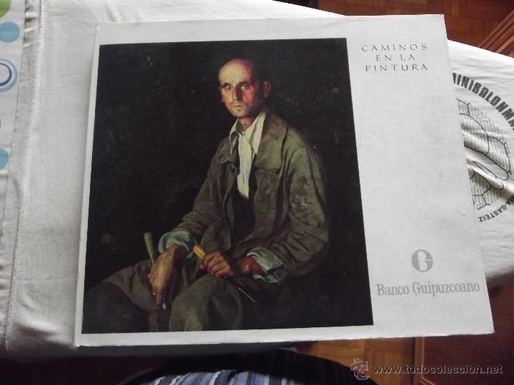 CAMINOS EN LA PINTURA POR EL BANCO GUIPUZCOANO GRAN FORMATO (Libros de Segunda Mano - Bellas artes, ocio y coleccionismo - Pintura)