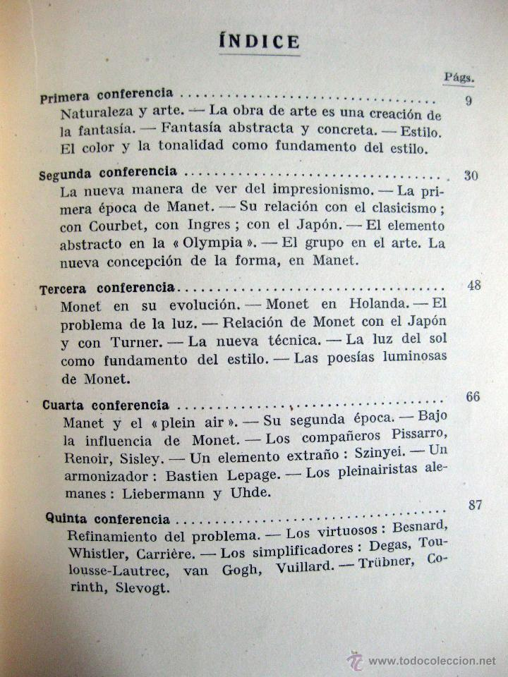 Libros de segunda mano: Bela Lazar. Los pintores impresionistas. 1942 - Foto 2 - 48620450