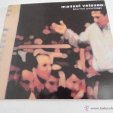 Libros de segunda mano: BLURRED PAINTINGS - MANUEL VELASCO, 2001. Lote 48781256