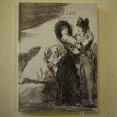 Libros de segunda mano: GOYA. LOS CAPRICHOS. DIBUJOS Y AGUAFUERTES - 1994. Lote 48839754