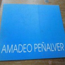 Libros de segunda mano: LIBRO AMADEO PEÑALVER L-6922-7. Lote 48883620
