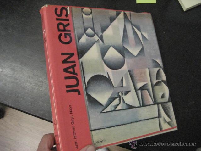 JUAN GRIS, JUAN ANTONIO GAYA NUÑO , GRAN FORMATO, OFERTA (Libros de Segunda Mano - Bellas artes, ocio y coleccionismo - Pintura)