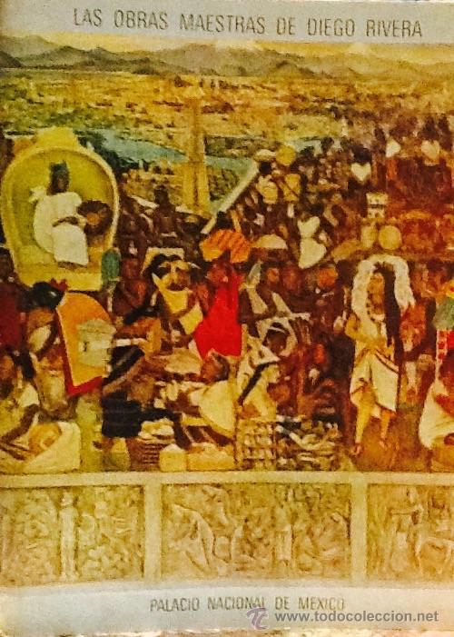 LAS OBRAS MAESTRAS DE DIEGO RIVERA. PALACIO NACIONAL DE MEXICO (Libros de Segunda Mano - Bellas artes, ocio y coleccionismo - Pintura)