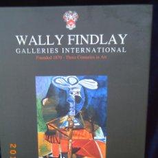 Libros de segunda mano: WALLY FINDLAY - GALLERIES INTERNATIONAL - FOUNDED 1870 - THREE CENTURIES IN ART - OBRA EN CATALÀ - . Lote 49279587