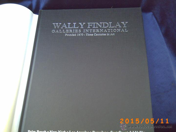 Libros de segunda mano: WALLY FINDLAY - GALLERIES INTERNATIONAL - FOUNDED 1870 - THREE CENTURIES IN ART - OBRA EN CATALÀ - - Foto 2 - 49279587
