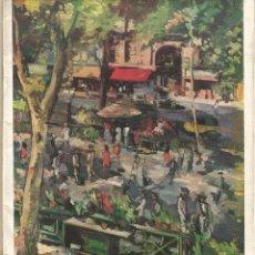 Libros de segunda mano: BARCELONA V LA RAMBLA DE LES FLORS VISTA PELS SEUS ARTISTES SERRA AMAT PELLICER CARDUNETS CASAS MIR. Lote 49386500