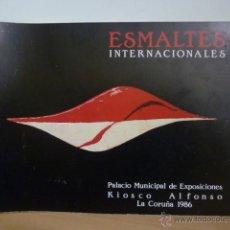 Libros de segunda mano: ESMALTES INTERNACIONALES - LA CORUÑA 1986. Lote 49591017