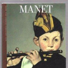 Libros de segunda mano: MANET. LOS GRANDES GENIOS DEL ARTE. Nº15. BIBLIOTECA EL MUNDO. UNIDAD EDITORIAL, S.A. 2003. Lote 49917971