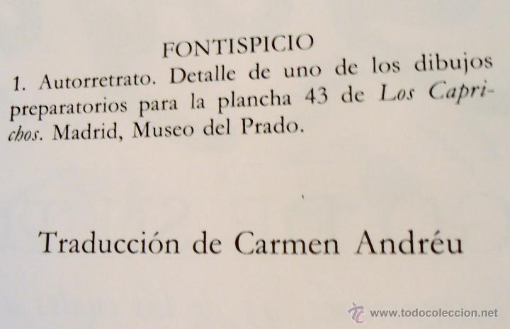 Libros de segunda mano: GOYA, TESTIGO DE SU TIEMPO, PIERRE GASSIER - Foto 4 - 50127765