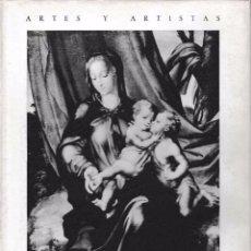 Libros de segunda mano: LUIS DE MORALES (J.A. GAYA NUÑO) 1961, SIN USAR JAMÁS. Lote 68435610