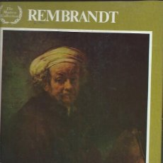 Libros de segunda mano: REMBRANDT, ELIZABETH ELIAS KAUFMAN, MINSTER BOOKS 1980 USA, INTRODUCCIÓN TEXTO MÁS 48 ILUSTRACIONES. Lote 50226482