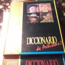 Libros de segunda mano: DICCIONARIO DE ARTISTA SVOLUMEN 1 Y 2. LOS GENIOS DE LA PINTURA ESPAÑOLA. EST20B5.. Lote 50227617