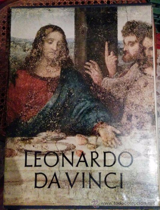 LEONARDO DA VINCI / 37 X 28 CM / 2 VOLÚMENES Y SEPARATA DE MANUSCRITOS DE MADRID (Libros de Segunda Mano - Bellas artes, ocio y coleccionismo - Pintura)
