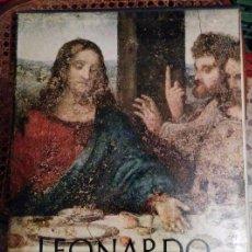 Libros de segunda mano: LEONARDO DA VINCI / 37 X 28 CM / 2 VOLÚMENES Y SEPARATA DE MANUSCRITOS DE MADRID. Lote 50472751
