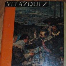 Libros de segunda mano: VELÁZQUEZ, XAVIER DE SALAS, CON 50 LÁMINAS EN COLOR, NOGUER BCN, COL, PHAIDÓN, 1962, 23 POR 30CM. Lote 50564510