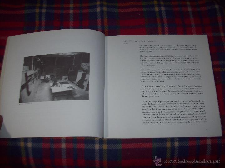 Libros de segunda mano: ANTONI TÀPIES.PELAIRES.CENTRE CULTURAL CONTEMPORANI. 1ª EDICIÓN 1999.EJEMPLAR BUSCADÍSIMO.FOTOS. - Foto 4 - 50640871
