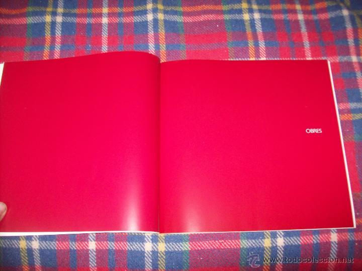 Libros de segunda mano: ANTONI TÀPIES.PELAIRES.CENTRE CULTURAL CONTEMPORANI. 1ª EDICIÓN 1999.EJEMPLAR BUSCADÍSIMO.FOTOS. - Foto 6 - 50640871