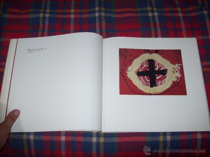 Libros de segunda mano: ANTONI TÀPIES.PELAIRES.CENTRE CULTURAL CONTEMPORANI. 1ª EDICIÓN 1999.EJEMPLAR BUSCADÍSIMO.FOTOS. - Foto 7 - 50640871