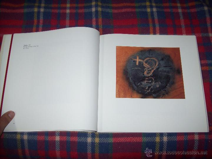 Libros de segunda mano: ANTONI TÀPIES.PELAIRES.CENTRE CULTURAL CONTEMPORANI. 1ª EDICIÓN 1999.EJEMPLAR BUSCADÍSIMO.FOTOS. - Foto 8 - 50640871