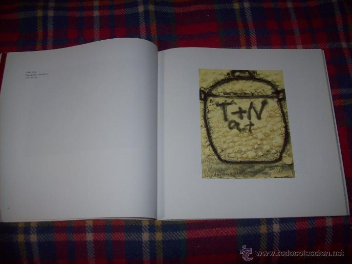 Libros de segunda mano: ANTONI TÀPIES.PELAIRES.CENTRE CULTURAL CONTEMPORANI. 1ª EDICIÓN 1999.EJEMPLAR BUSCADÍSIMO.FOTOS. - Foto 9 - 50640871