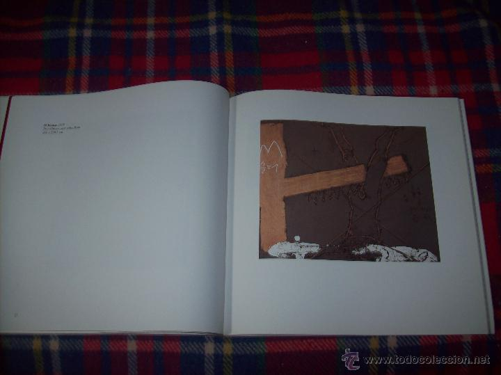 Libros de segunda mano: ANTONI TÀPIES.PELAIRES.CENTRE CULTURAL CONTEMPORANI. 1ª EDICIÓN 1999.EJEMPLAR BUSCADÍSIMO.FOTOS. - Foto 11 - 50640871
