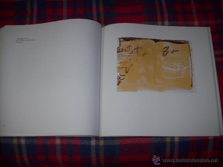 Libros de segunda mano: ANTONI TÀPIES.PELAIRES.CENTRE CULTURAL CONTEMPORANI. 1ª EDICIÓN 1999.EJEMPLAR BUSCADÍSIMO.FOTOS. - Foto 13 - 50640871