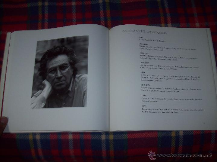 Libros de segunda mano: ANTONI TÀPIES.PELAIRES.CENTRE CULTURAL CONTEMPORANI. 1ª EDICIÓN 1999.EJEMPLAR BUSCADÍSIMO.FOTOS. - Foto 19 - 50640871